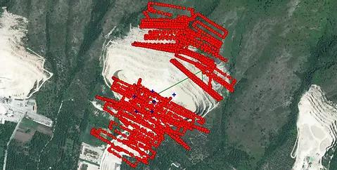 piano di volo del drone