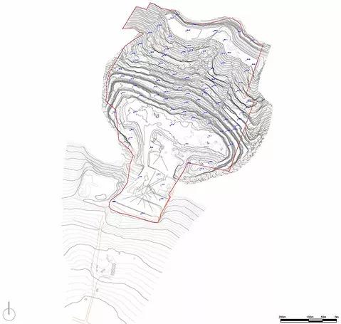 planimatria - curve di livello