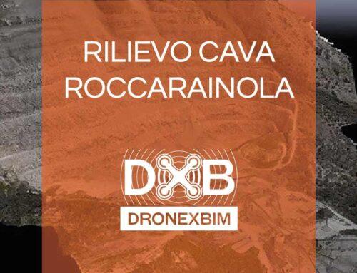 Rilievo fotogrammetria con drone Cava di Roccarainola