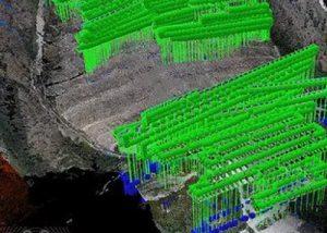 fotogrammetria aerea drone cava
