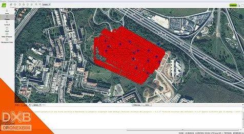 piano di volo drone georeferenziato